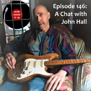 Episode 146 cover, a portrait of John Hall
